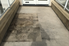 Water Damaged Roof Deck